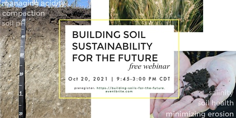 Building Soil Sustainability for the Future tickets