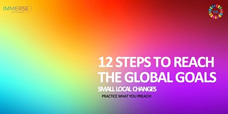 12 steps to reach the Global Goals tickets