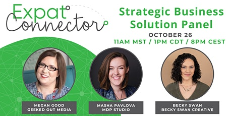 Expat Connector October Strategic Business Solution Panel tickets