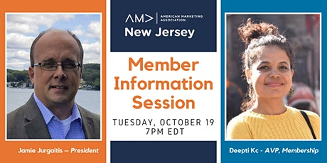 Member Information Session tickets