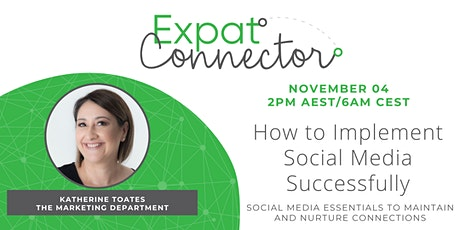How to Implement Social Media Successfully into your Business tickets