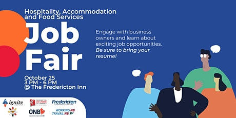 Hospitality, Accommodation and Food Services Industries Job Fair tickets