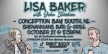 Lisa Baker - Right Saucy Comedy - CBS NL tickets