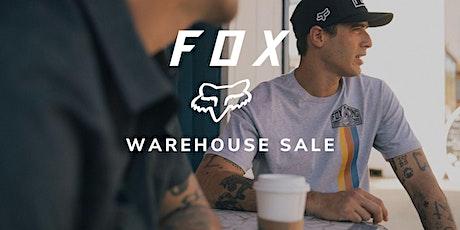 Fox Racing Warehouse Sale - Santa Ana, CA tickets