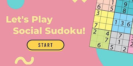 Social Sudoku tickets