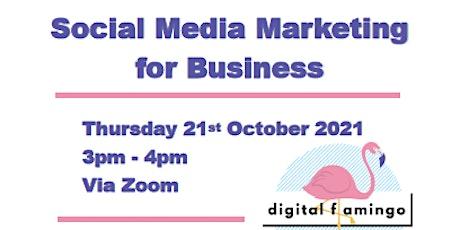 Social Media Marketing for Business biglietti