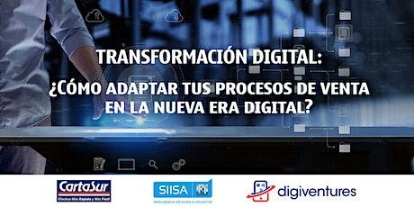 ¿Cómo adaptar tus procesos de venta en la nueva era digital? entradas