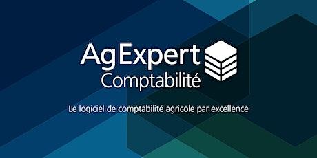 Webinaire d'introduction à AgExpert Comptabilité billets