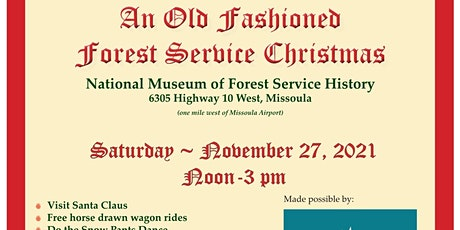 Old Fashioned Forest Service Christmas tickets
