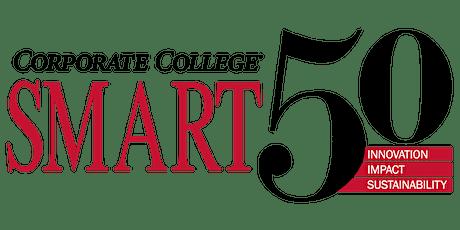 2021 Corporate College Smart 50 Awards biglietti