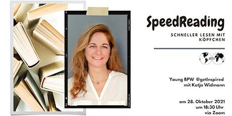 SpeedReading - Schneller lesen mit Köpfchen tickets