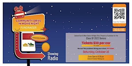 Community Drive-In Movie Night tickets