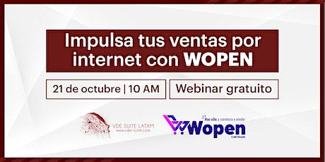 Taller online GRATUITO: ¡Impulsa tus ventas con WOPEN! entradas