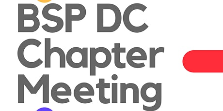 BSPDC Chapter Meeting tickets