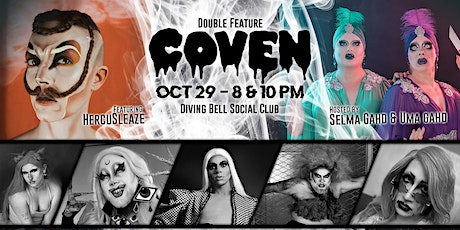 COVEN Drag Show - October Double Feature tickets