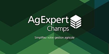 Webinaire d'introduction à AgExpert Champs billets