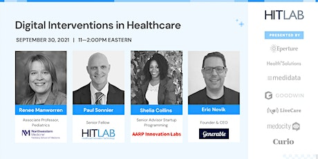 Digital Interventions in Healthcare tickets