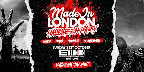 Made in London - Halloween Party tickets