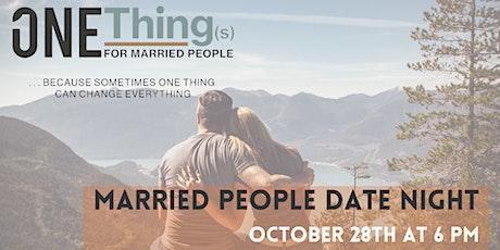 Married People Date Night tickets