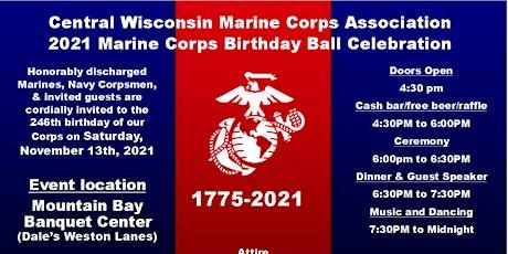 2021 Marine Corps Birthday Ball tickets