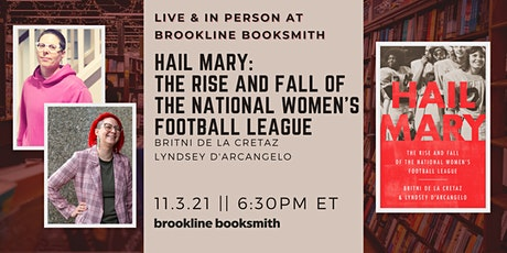 Live at Brookline Booksmith! Britni de la Cretaz & Lyndsey D'Arcangelo tickets