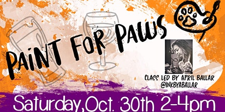 Paint For Paws - A Fundraiser for Hayward Animal Shelter tickets