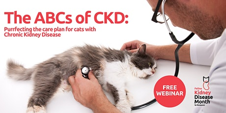 The ABCs of CKD: Care Plans for Cats with Chronic Kidney Disease tickets