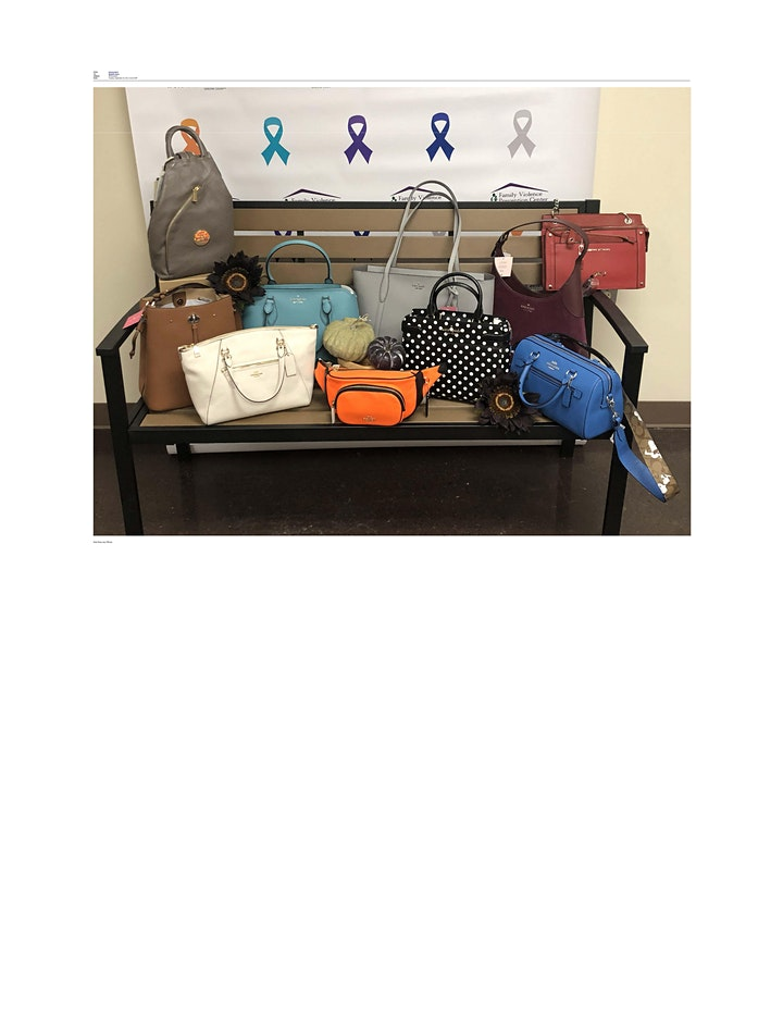 Purses and Pastries- Power of the Purse Virtual FUNdraiser 2021 image
