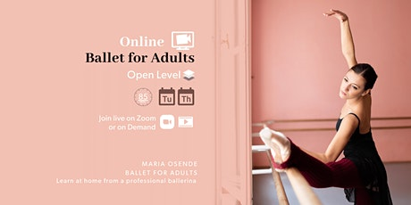 Online Ballet for Adults tickets