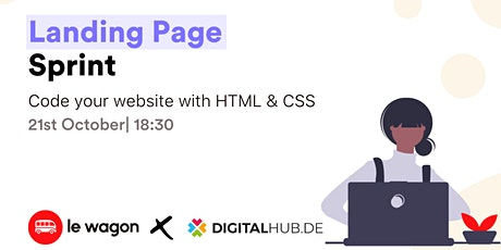 [Free] Workshop   Code your first website - Le Wagon / Digital Hub Tickets