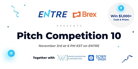 Pitch Competition 10 tickets