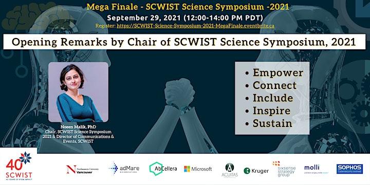 SCWIST Science Symposium, 2021 - Mega Finale image