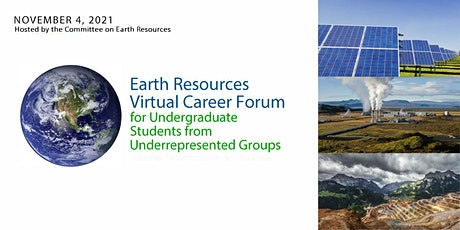 Earth Resources Virtual Career Forum: Introductory Panel Discussion tickets