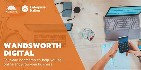 Wandsworth Digital: 4-day bootcamp to help you sell online tickets