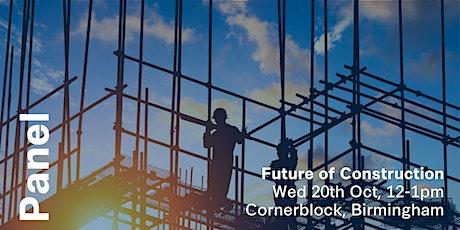Spark Panel: Future of Construction (Birmingham) tickets