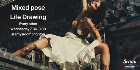 Mixed pose Life Drawing sessions tickets