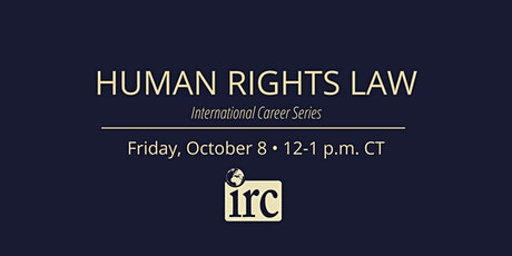 International Career Series: Human Rights Law tickets