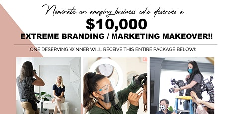 Networking Event Announcing the Winner - $10,000 Extreme Marketing Makeover tickets