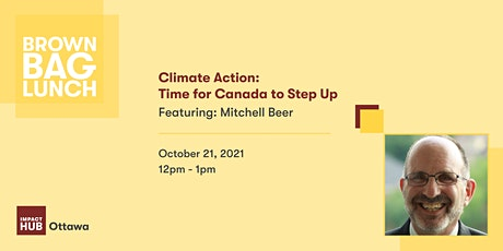 Climate Action: Time for Canada to Step Up tickets