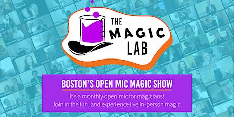 The Magic Lab: Boston's Open Mic Magic Show tickets