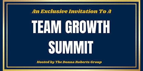 Real Estate Team Growth Summit tickets