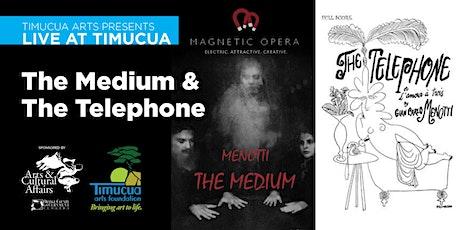 Live at Timucua: The Medium & The Telephone (Live Stream) tickets