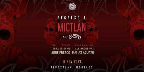 """Constelación presenta """"Regreso a Mictlán"""" por El Diablito Mezcal entradas"""