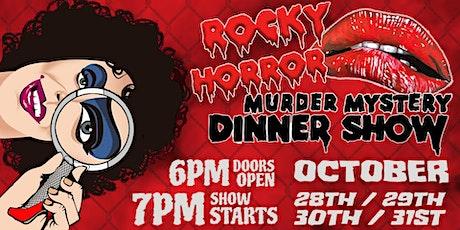 Rocky Horror Murder Mystery Dinner Show tickets
