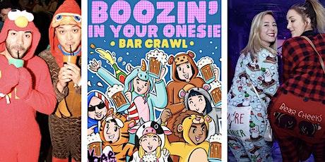 Boozin' In Your Onesie Bar Crawl | Hoboken, NJ - Bar Crawl LIVE! tickets