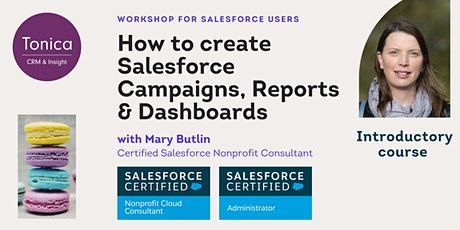 How to create Salesforce Campaigns, Reports and Dashboards tickets