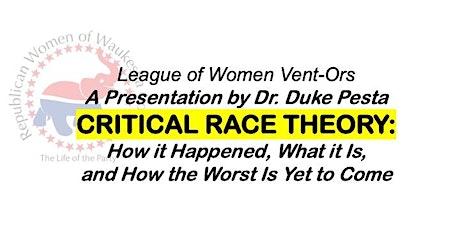 Critical Race Theory: A Presentation by Dr. Duke Pesta tickets