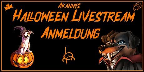 Akannys Halloween Livestream am  27.10.21 Tickets
