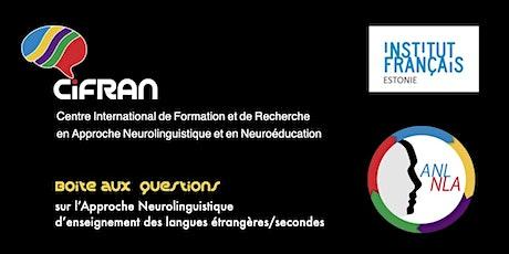 ANL / Boîte aux questions @ Institut Français d'Estonie (Tallinn) billets