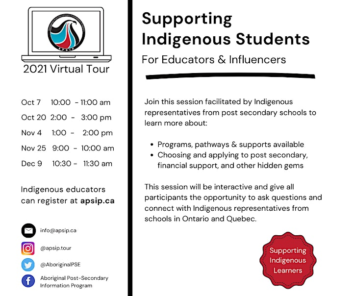 Supporting Indigenous Students: Educators Session image